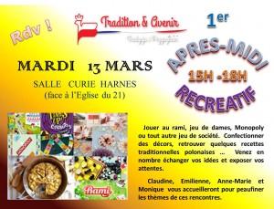 APRES-MIDI RECRE 13 MARS