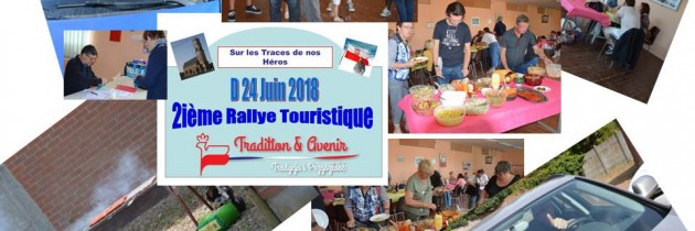 Rallye touristique : une 2ième édition sous le soleil !