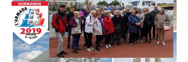 Tradition et Avenir à l'Armada de Rouen le 12 juin 2019